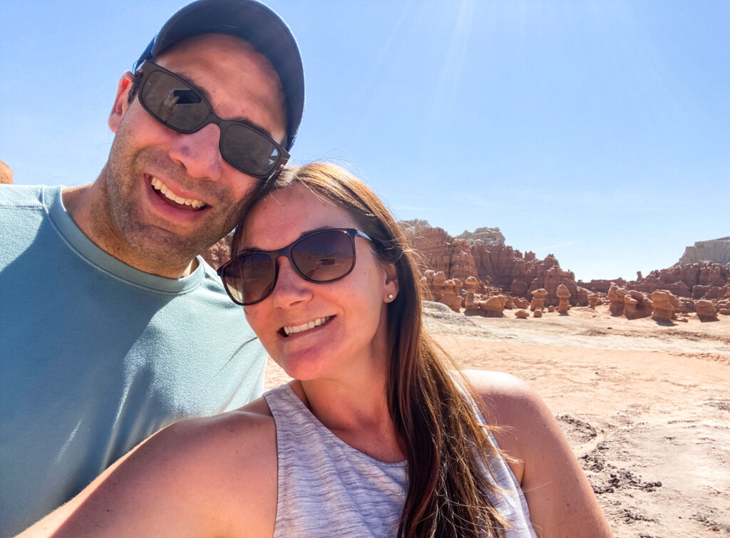 Couple in Goblin State Park
