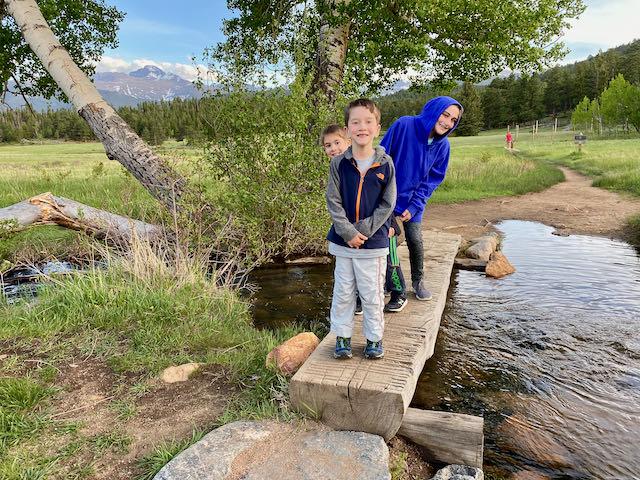 Kids in Upper Beaver Meadows