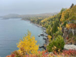 Shoreline of Lake Superior on the North Shore MN